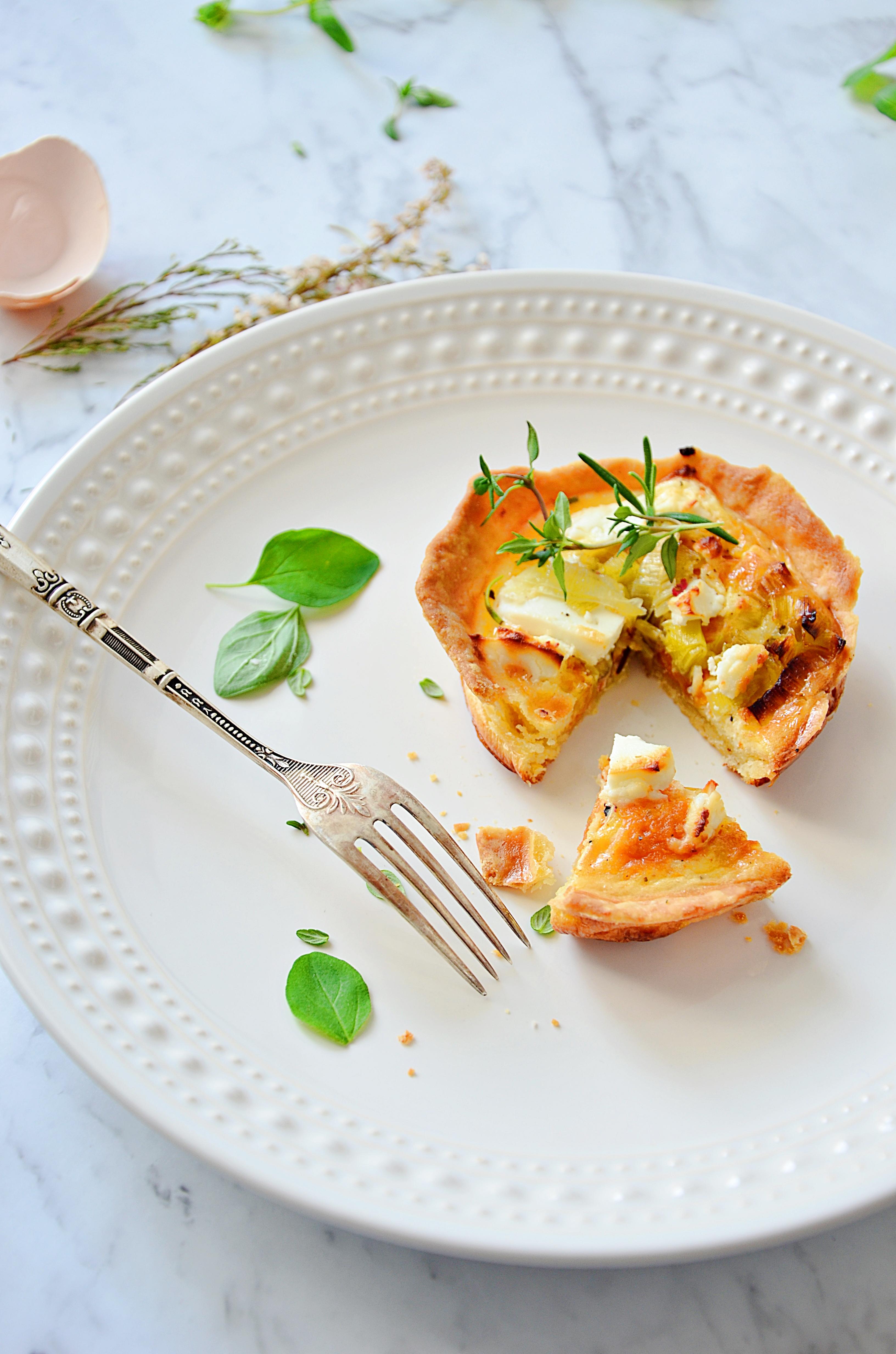 tartaletki z batatami i kozim serem