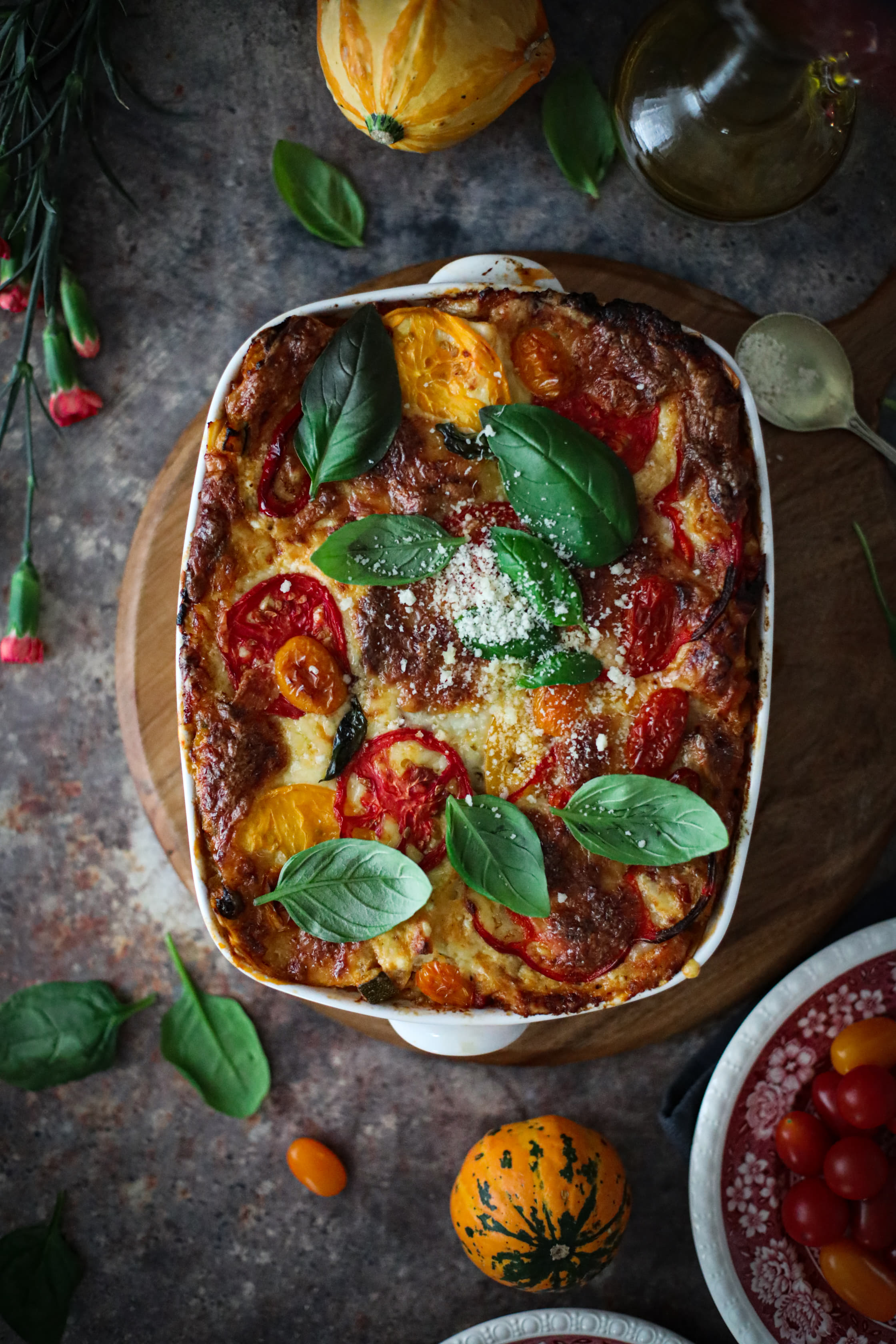 lasagne warzywna