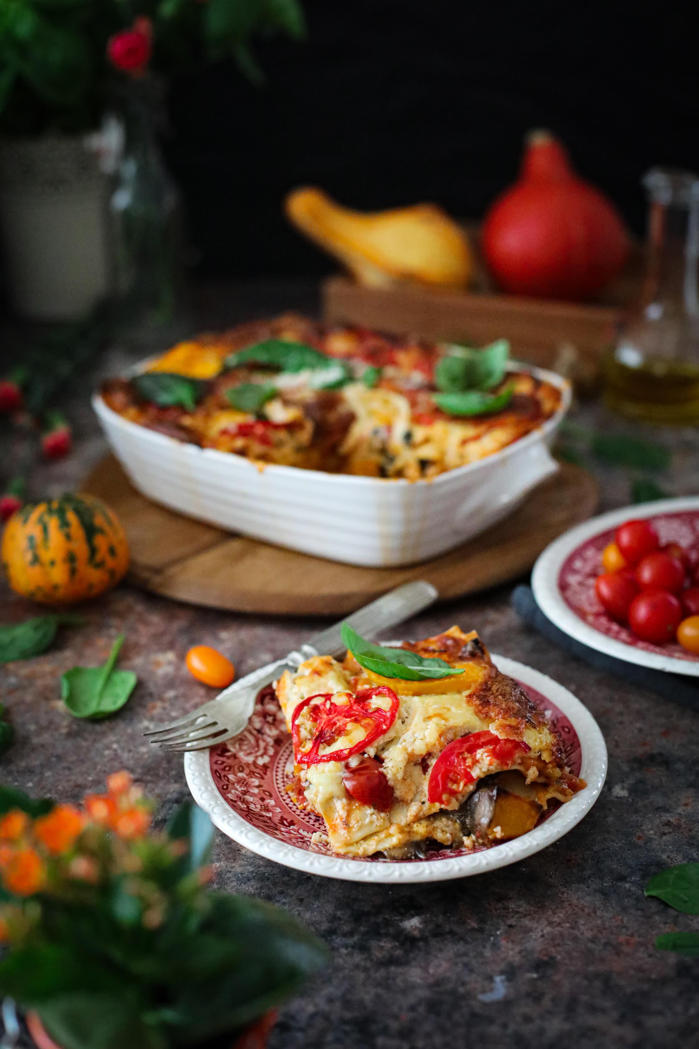 lasagna warzywna