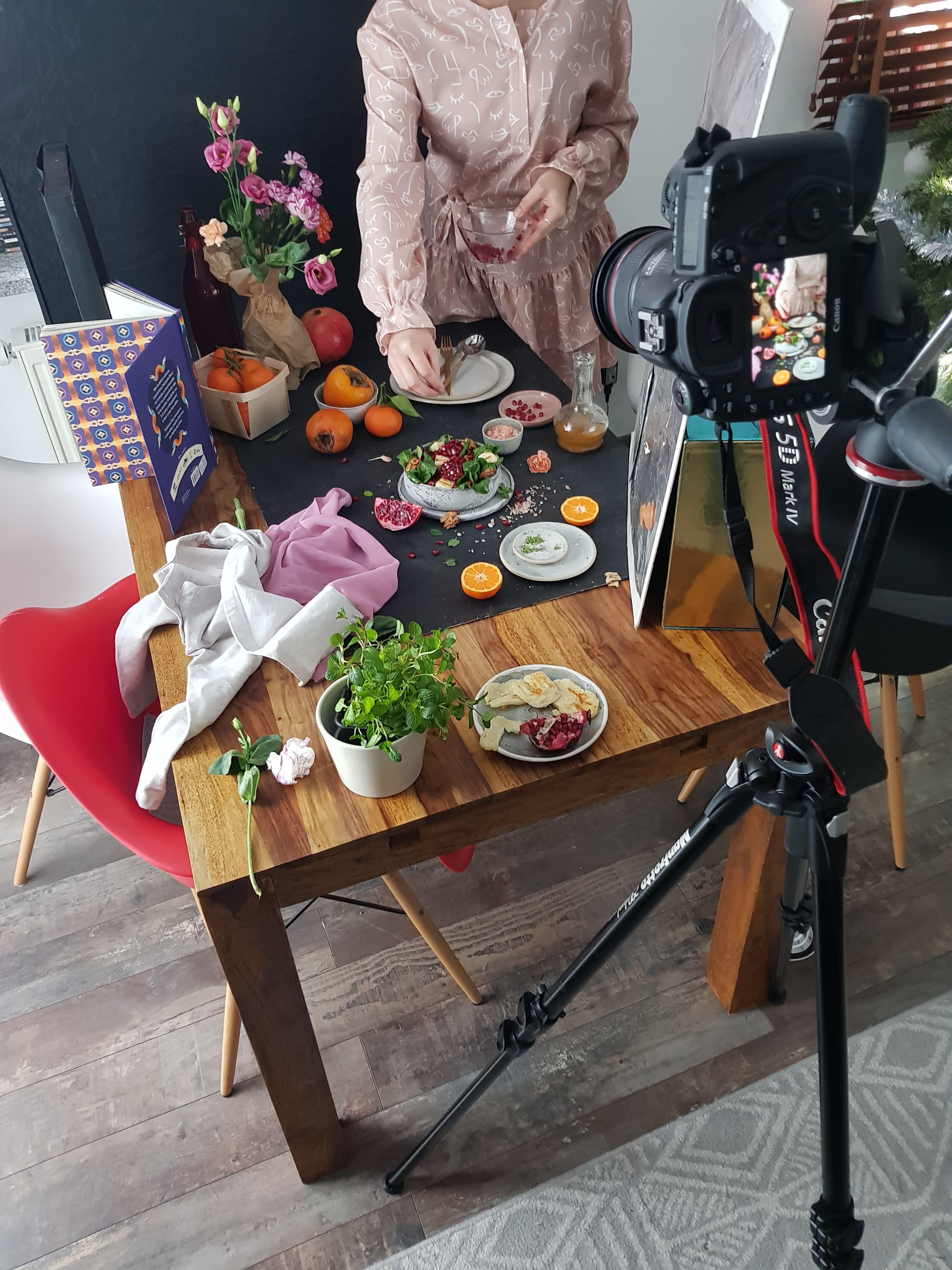 jak robić zdjęcia jedzenia