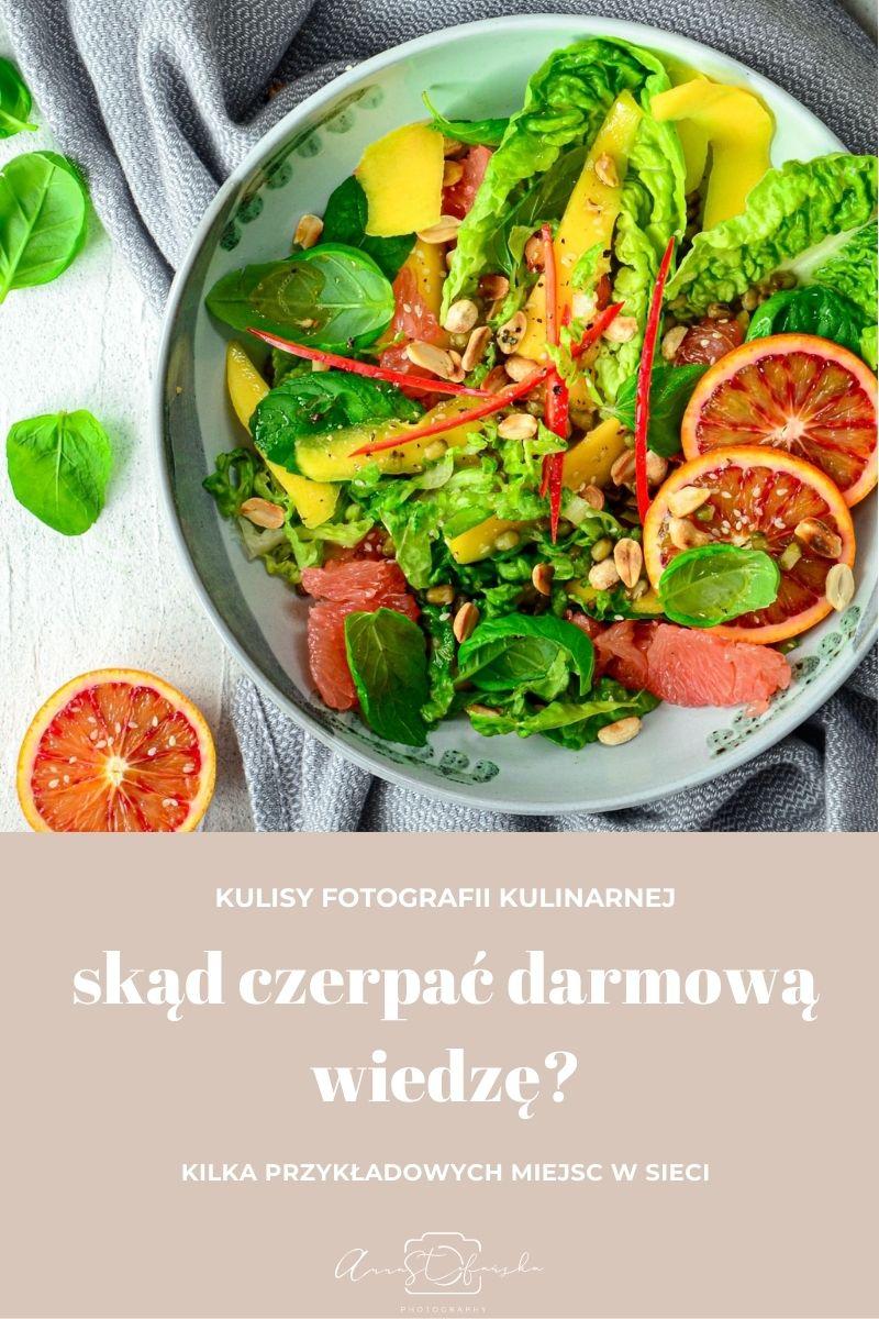 Fotografia kulinarna – skąd czerpać darmową wiedzę